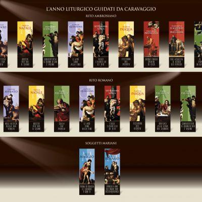 Stendardi Anno Liturgico della serie Caravaggio